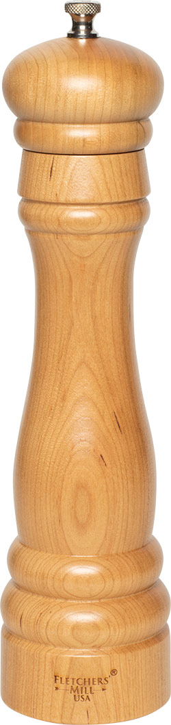 10 inch Federal Pepper Mill Cherry