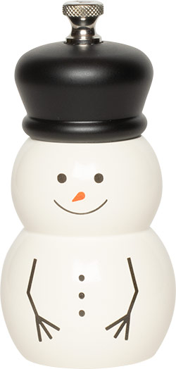 4 inch Snowman Mill with Hat